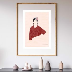 Frida | Art Print | Unframed