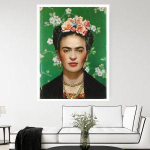 Frida Flowers| Canvas Art by Hoxton Art House