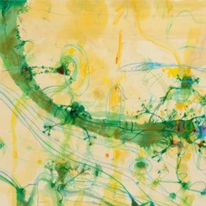 Frogs & Banana Leaf | Limited Edition Print | By John Olsen