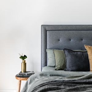 Fynn Upholstered Bedhead | Various Sizes and Colours | Custom Made by Bedsahead