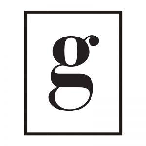 G   Framed Print   Artefocus