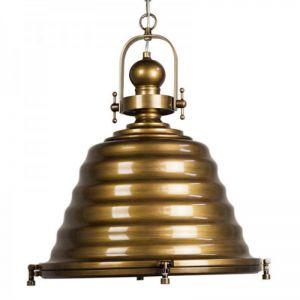 Gaia Elegance Pendant Light | Antique Brass