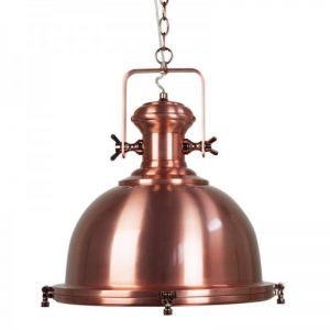 Gaia Industrial Pendant Light | Copper