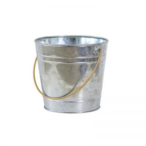 Galvanized Bucket | Silver