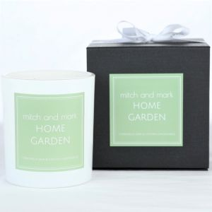 GARDEN Essential Oil Candle | Limited Edition | Personally signed by Mitch and Mark
