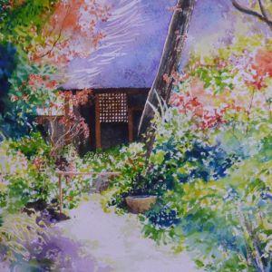 Garden in Kyoto | Original Watercolour Artwork
