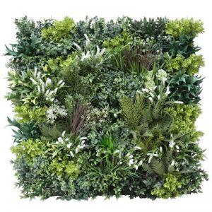 Garden of Eden Bespoke Vertical Garden | Green Wall UV Resistant 1m x 1m