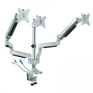 Gas Spring Monitor Arm | Triple | Ergovida
