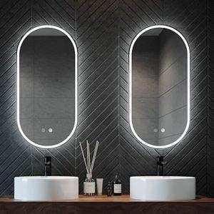 Gatsby Illuminated Oval Mirror