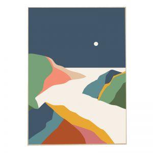 Gelatti River | Front View | Boxed Canvas Print