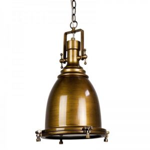 Gelos Classic Pendant Light | Antique Brass