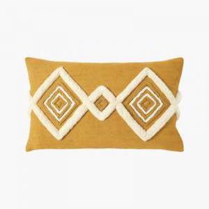 Gemini Cushion | Ochre