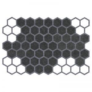 Geometric Felt Placemats | Set of Four | CLU Living