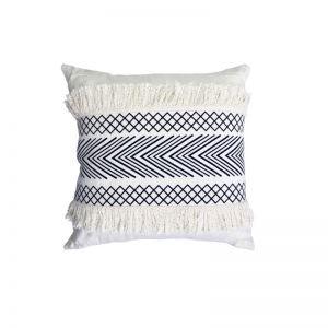 Geometric Fringed Cushion | OMG I WOULD LIKE