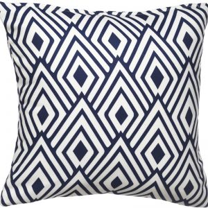 Geometric Nakano Outdoor Cushion | Insert Included