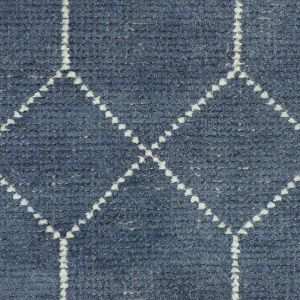 Geometrics Storm Distressed Rug | Blue