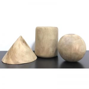 Geometry Timber Sculpture | Set of 3 | CLU Living