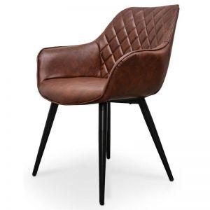 George Plywood Dining Chair | Cinnamon Brown | Set of 2