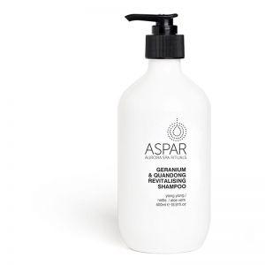 Geranium & Quandong Revitalising Shampoo by Aspar