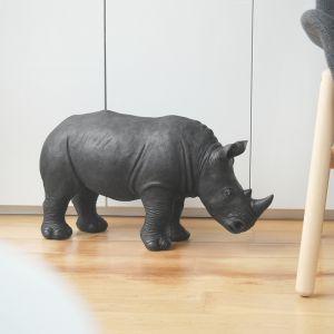 Giant Resin Rhino | Black