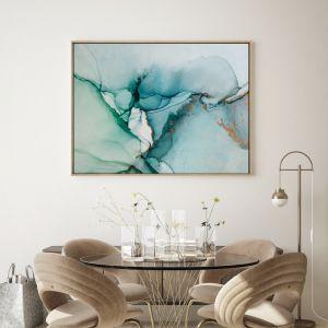Gigi Green   Drop Shadow   Framed Wall Art