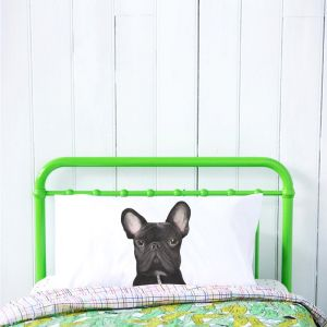 Gilbert the French Bulldog Pillowcase | by For Me By Dee