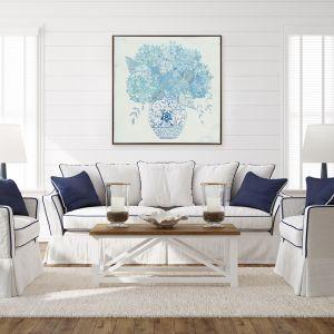 Ginger Jar Hydrangea   Canvas Print