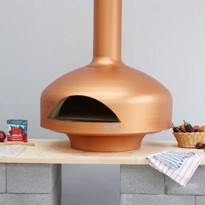 Giotto Wood Fire Oven with Bench Stand