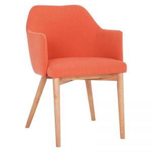 Gitel Dining Chair | Carrot