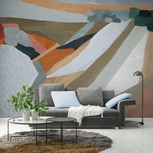 Glass House Mountains   Wallpaper Mural