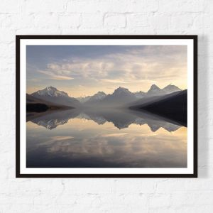 Glass Reflections | Framed Print | Artefocus