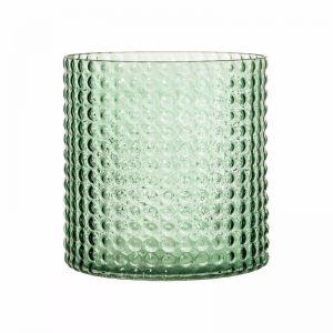 Glass Vase - Green 16cm | Trit House