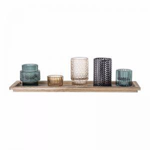Glass Votive | Multi Set of 6 | Trit House