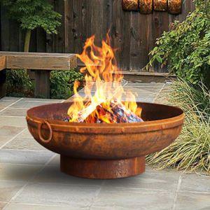 Gobi 70cm Rust Fire Pit