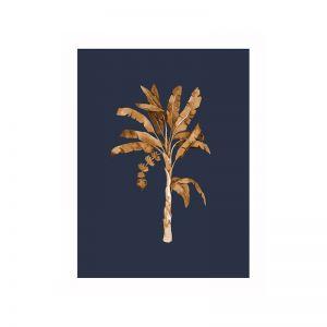 Golden Palm I Poster