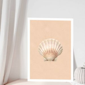 Golden Shell | Art Print