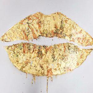 Goldies   Original Artwork on Canvas by Melissa La Bozzetta