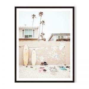 Gone Swimming | Framed Print by Atrefocus