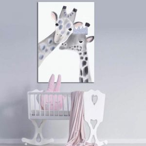 Gracie The Giraffe | Canvas Print By United Interiors