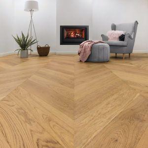 Grandoak Chevron | Timber Flooring | Various Colours | Carpet Court