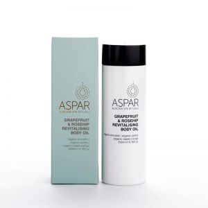 Grapefruit & Rosehip Revitalising Body Oil by ASPAR