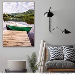 Green Envy   Canvas Print   by United Interiors