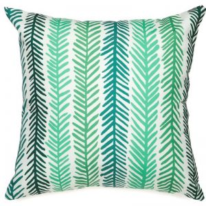 Green Forest Floral Outdoor Cushion | Insert Included