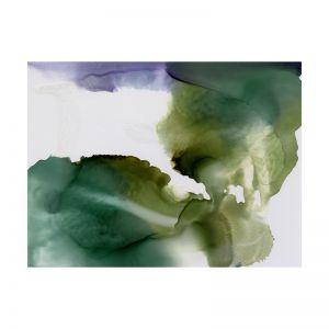 Green Glacier I | Canvas Print