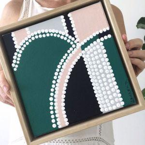 Green Glow #1 | Original Art by Lauren Daly