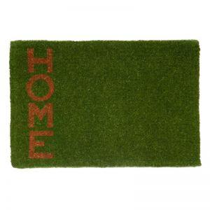 Green Home | 100% Coir Doormat | 60x90 CM | Fab Habitat