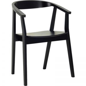 Greta Dining Chair | Ebony | Modern Furniture