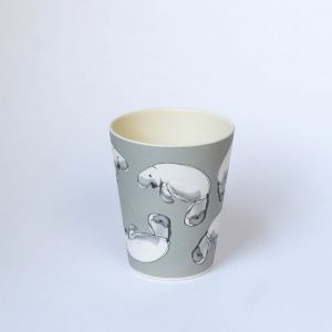 Grey Dugong Tumbler | Emilie O'Connor Homestore