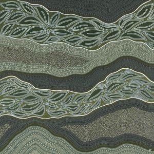 Grey Gum | Unframed Limited Edition Canvas Print by Lauren Freestone
