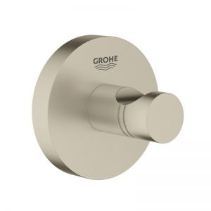 Grohe Essentials Accessories Robe Hook Brushed Nickel